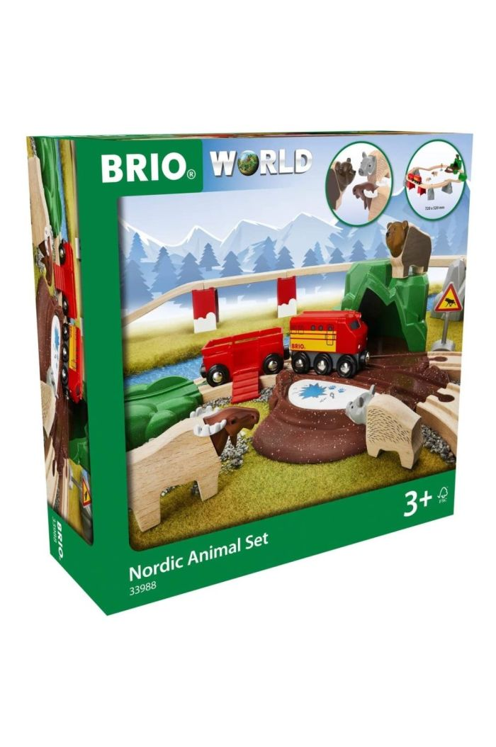 BRIO NORDIC ANIMAL SET