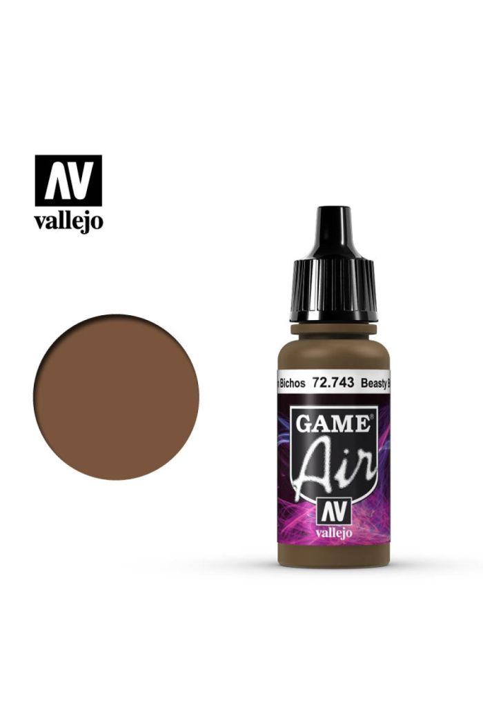VALLEJO AIR BEASTY BROWN 17ML